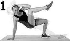 exercice de tonification des abdominaux obliques en appui costal