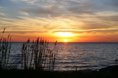Sunset at Bayou la Batre, the town next to Grand Bay, Alabama, where my sister, Christi lives