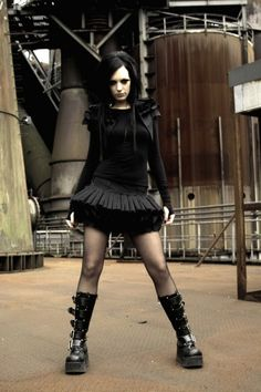 #clothing #dress #gothic