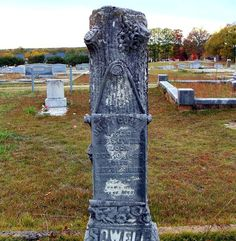 Southern Graves: Typhoid Fever and Lung Trouble Attacked Julia and Perry Sowell