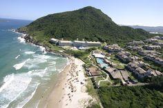 Praia do Santinho, Florianópolis, Santa Catarina, Brasil.