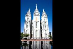 Click to download this wallpaper image of the Salt Lake Mormon Temple