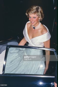 Diana Princess of Wales attends a Ballet performance at The London Coliseum, in London's West End, on July 18 1988 in London, United Kingdom.