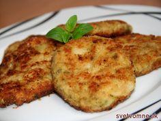 Chutné a nadýchané zeleninové fašírky so syrom.