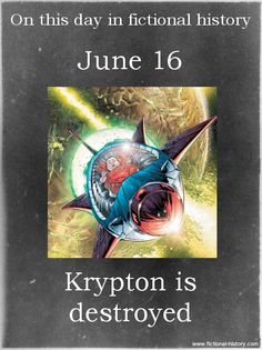 """Krypton is destroyed."" (Source)"