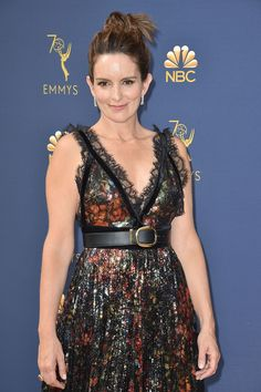 We saw lots of glitz and glamour as celebrities appeared on the Red Carpet for the 2018 Emmy Awards. Muppets Most Wanted, Lumpy Space Princess, Princess Adventure, Tina Fey, Golden Globe Award, Mean Girls, Celebrity Weddings, American Actress, Red Carpet