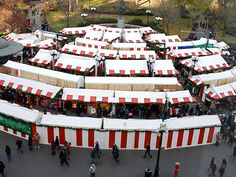 Union Square Christmas Market NYC