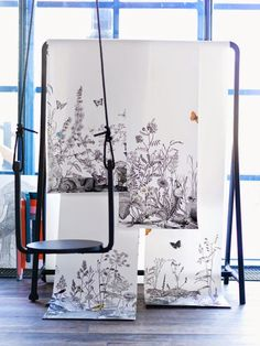 DIY swing with Ikea's Frosta stool