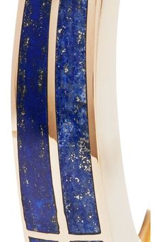 Pamela Love - Inlay Cross Gold-tone Lapis Lazuli Cuff - Blue - One size