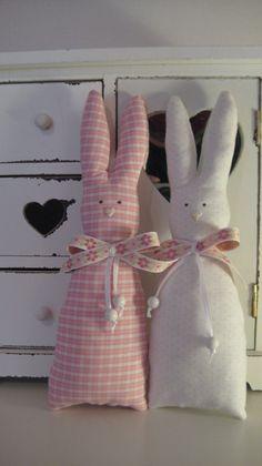 Ostern-Hasen-Frühjahr-Landhaus-Stil-rosa-weiß+von+baerich`s+Nähzimmer+auf+DaWanda.com