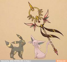 Pokemon weapons, searched this and I am not disappointed