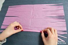 Matériel Papier de soie 1 rouleau de masking tape 1 paire de ciseaux