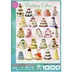 Eurographics Wedding Cakes Puzzle (1000 Pieces) Eurographics http://www.amazon.co.uk/dp/B0095ZL2JE/ref=cm_sw_r_pi_dp_gjj-ub099PR40