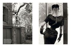 Vogue Italia September 2011 - Stella Tennant. Steven Meisel