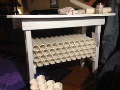Vinyl table!!!! from Karen Cobb‎ (FB) Silhouette CAMEO Project Inspiration