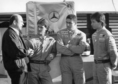 Clean founds the late 80s a junior team and Allows three young drivers to enter the Formula 1 The names of Sauber's proteges. Wendlinger, Heinz-Harald Frentzen and Michael Schumacher