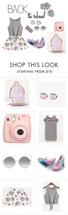 """""""#PVxPusheen"""" by gfreitas-1 ❤ liked on Polyvore featuring Pusheen, Fujifilm, Marc Jacobs, contestentry and PVxPusheen"""