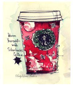 Christmas Starbucks (BabyLana Fashion)