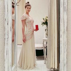 Scottish blogger @Wendy @thankfifi checks out #TheDressingRoom in our new #Glasgow store #Dress #Prom #PersonalShopping #MissSelfie #MissSelfridge