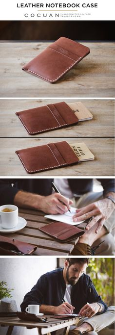 LEATHER NOTEBOOK CASE www.cocuan.com