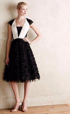 Georgina Tuxedo Dress #anthroregistry
