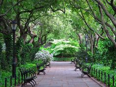 Central Park Conservatory Garden from slowlovelife.com