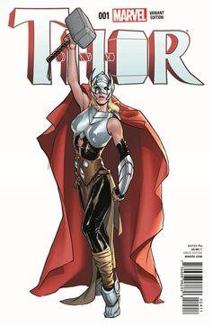 Thor   Marvel divulga prévia e capas de estreia da heroína > Quadrinhos   Omelete