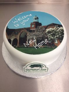 A new office cake for Hampshire Fare