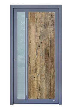 Haustüren mit Altholz