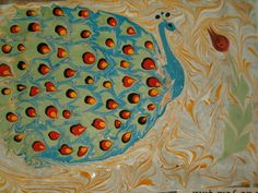ebru paper | Hand Made in Kalkan - paper marbling · Kalkan Turkey · Kalkan ...