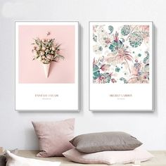Compliment your Style with Fantasy Dream Waffle Corn with Roses Design Wall Art Prints. Get these Canvas here at Australia's online art store. Wall Art Sets, Diy Wall Art, Canvas Wall Art, Wall Art Prints, Poster Prints, Art Posters, Floral Wall, Floral Prints, Online Art Store