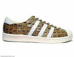 purchase cheap c74cd 16b2b adidas SuperstarPro Model - Vintage Croc Series