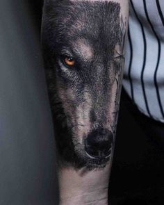 best wolf tattoo designs for men. Awesome wolf tattoos, Best wolf tattoos for men. A wolf tattoo is one of the most popular choices when it comes to animal-inspired tattoos. Hand Tattoos, Forearm Tattoos, Body Art Tattoos, Tattoo Drawings, Cool Tattoos, Tatoos, Man Arm Tattoo, Lower Arm Tattoos, Wolf Tattoo Design