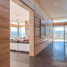 rammed earth design