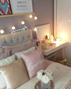 Cute Bedroom Ideas, Dream Rooms, New Room, Future House, Home Office, Sweet Home, New Homes, Bedroom Decor, Architecture