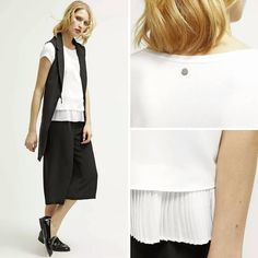 А ну как именно детали создают индивидуальность?  #gerryweber #outfitoftheday #perfect #details #culottes #zalando #newcollection #outfit2016 #vest #pleated #taifunfashion #blackandwhite #fashionista #fashionblog #odessafashion #odessashopping #ukraineshopping #shopingonline #summer2016 #ss2016 #blouse #pants #taifunodessa