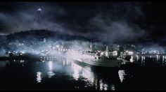 The ferry scene from the movie War of the Worlds (2005).