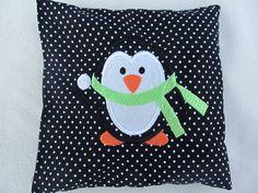 Kirschkernkissen Pinguin von Stick-und-Naeh-Design auf DaWanda.com
