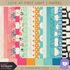 love at first sight papers more scrapper digital bicycles sight papers ...
