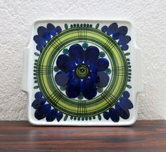 Arabia  Svea Granlund  Finland Plate by ZeitepochenShop on Etsy