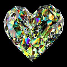 True love radiates many facets and colours..