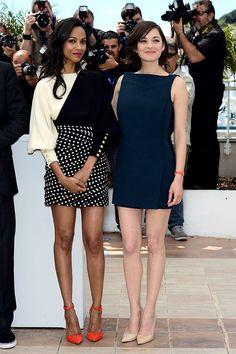 Festival Internacional de Cine de Cannes 2013 alfombra roja red carpet photocall - Zoe Saldana - Marion Cotillard | Galería de fotos 48 de 234 | Vogue México