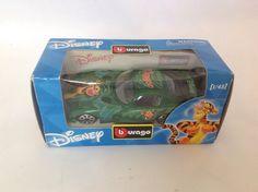 New Disney BBurango Tigger Sports Car With Box 1/43 Scale #Disney