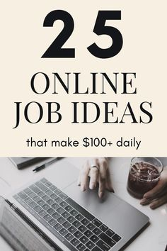 Are you looking to earn money online? Here are 25 online job ideas that will pay you a lot of money. Many of these jobs don't require much experience. These online jobs can be done casually as well at your own pace. Check the list inside.