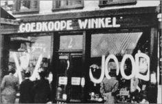 At the beginning 1941 shops from Jewish shop owners were vandalized by Dutch national socialist. This was the beginning of the big strike called 'the Februaristaking'.