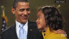 Barack Obama cried seeing Malia off to college - USANEWS.CA