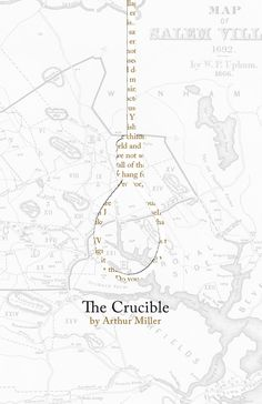 The Crucible Act 1 Character Map Review Activity for
