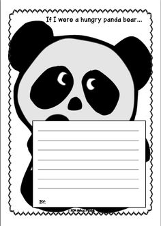 Writing Prompts can be used in your creative writing class in many ways that can be imagined. It can be used in the following ways: 1.	Discussion starter 2. Supplementary worksheet 3.	After reading activity when you have read a story or information text on the theme of panda bears 4.	Shared classroom journal activity 5. Differentiated writing activity: You can include it in your set of other journaling prompts so that children can be given a choice.
