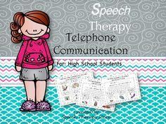 Speech Therapy Workplace Communication Making Phone Calls