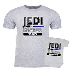 Jedi Master in Training Star Wars Shirt I am Your Father